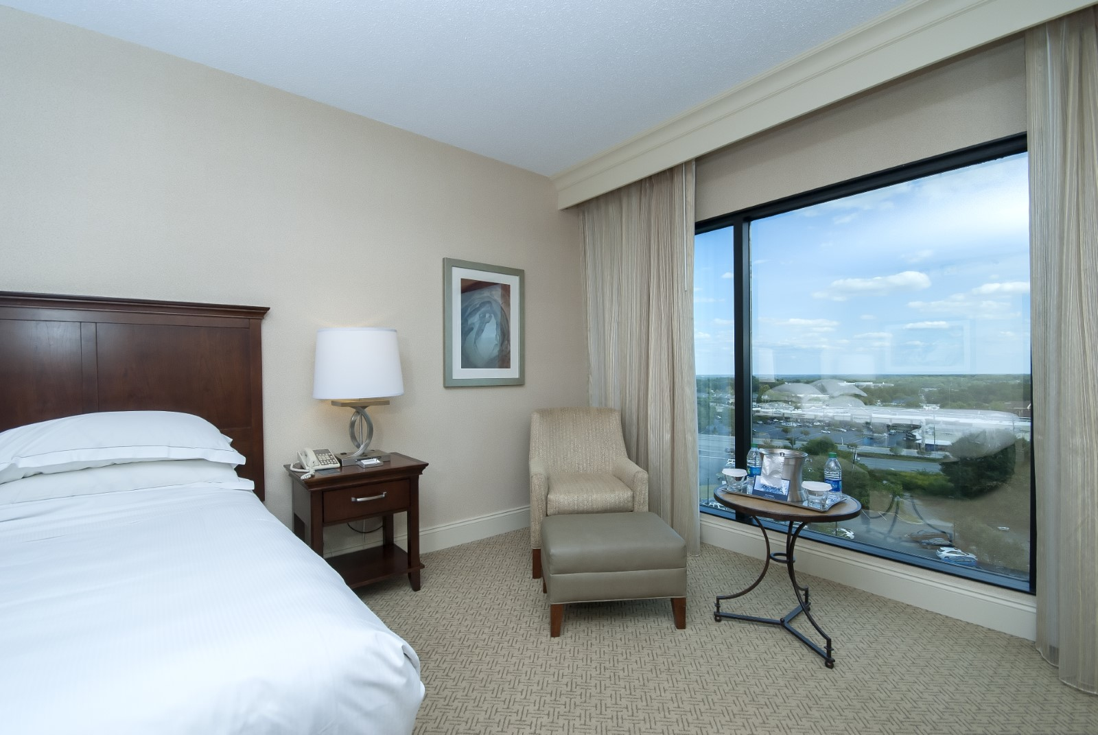 Greenville Hilton Guest Room
